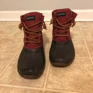 Sperry Duck Boots size 6